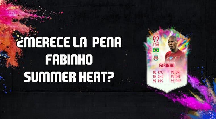 Imagen de FIFA 20: ¿Merece la pena Fabinho Summer Heat? + Solución de su SBC