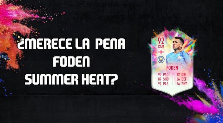 Imagen de FIFA 20: ¿Merece la pena Phil Foden Summer Heat? + Solución de su SBC