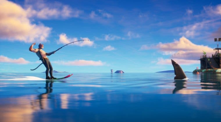 Imagen de Fortnite: guía para domesticar tiburones en la Temporada 3
