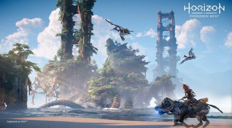 Imagen de Horizon Forbidden West no llegará de lanzamiento a PS5