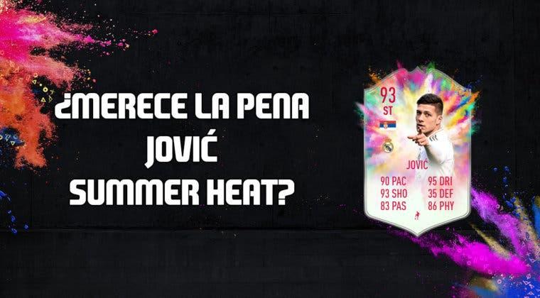 Imagen de FIFA 20: ¿Merece la pena Luka Jovic Summer Heat? + Solución de su SBC