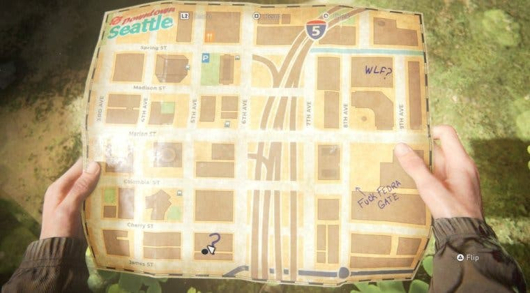 Imagen de The Last of Us 2: Dónde encontrar el mapa de Seattle