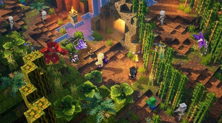 Imagen de Flames of the Nether, el nuevo DLC de Minecraft Dungeons, ya tiene fecha