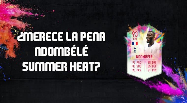 Imagen de FIFA 20: ¿Merece la pena Tanguy Ndombélé Summer Heat? + Solución de su SBC