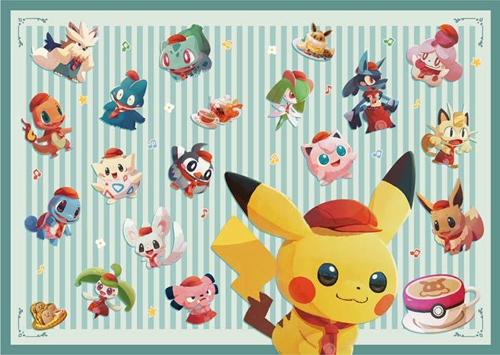 Pokémon Café Mix varios Pokémon