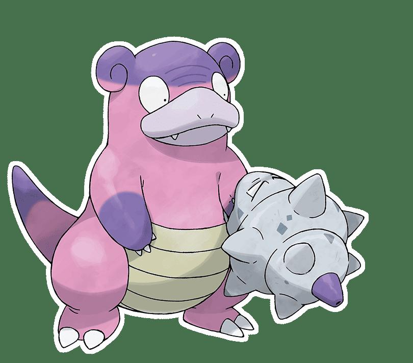 Pokémon Espada y Escudo Slowbro de Galar
