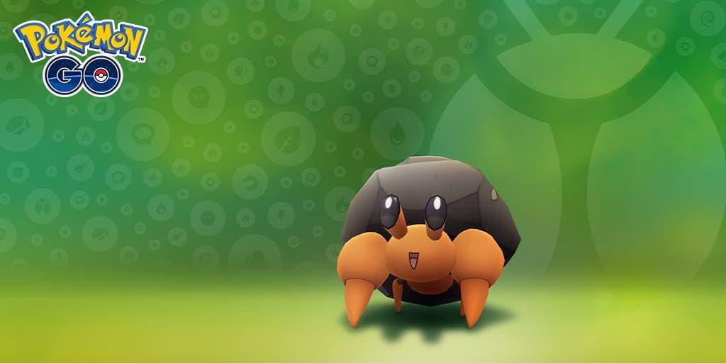 Pokémon GO Dwebble evento a bichear