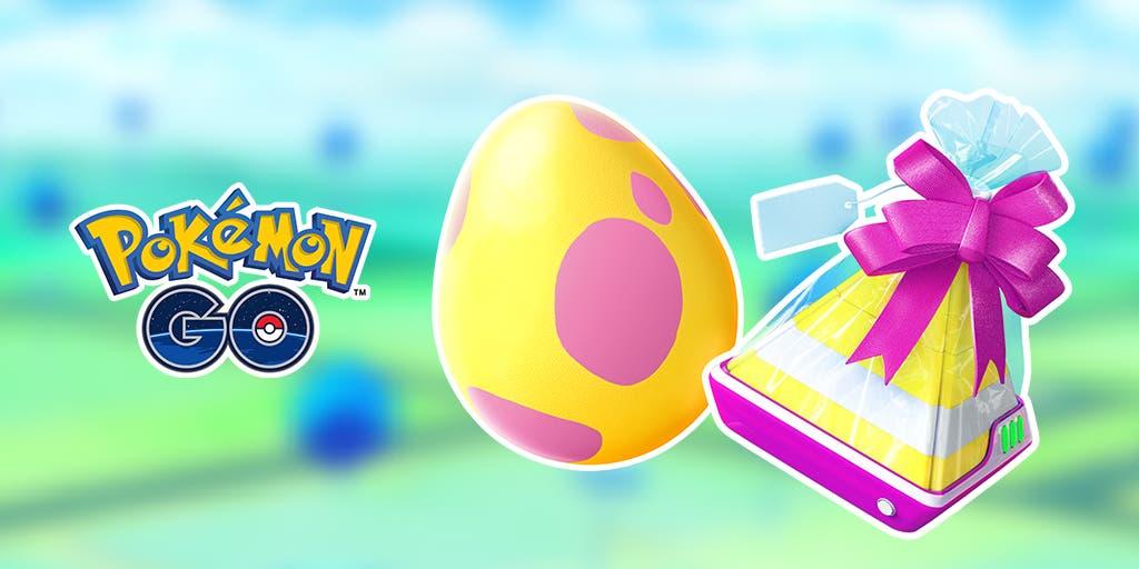 Pokémon GO Huevo 7 Km Regalo