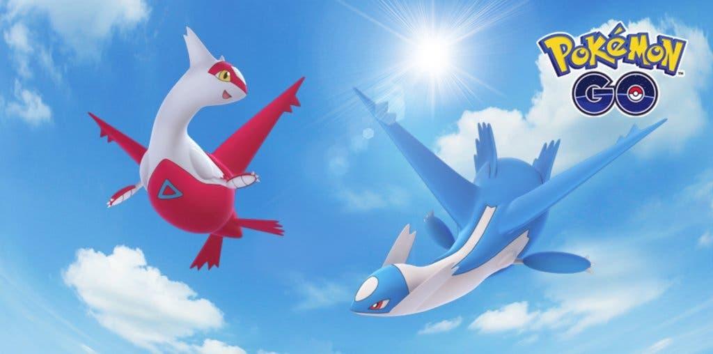 Pokémon GO Latios y Latias