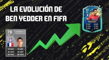 Imagen de La historia de Ben Yedder en FIFA: de jugador plata a tener un TOTS con 97 de media