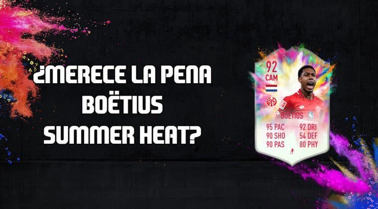 Imagen de FIFA 20: ¿Merece la pena Boëtius Summer Heat? + Solución de su SBC