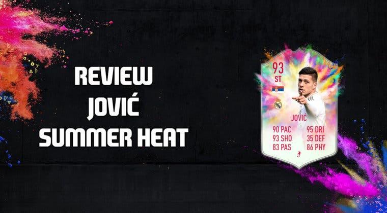 Imagen de FIFA 20: review de Luka Jovic Summer Heat