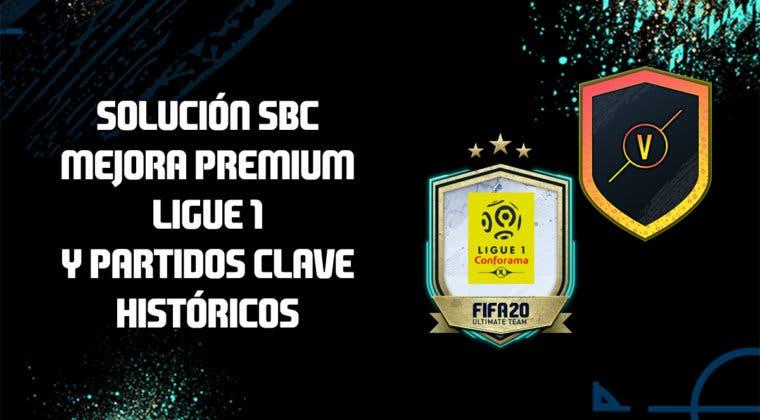 Imagen de FIFA 20: Solución a los SBC's 'Mejora premium Ligue 1' y 'Partidos clave históricos'