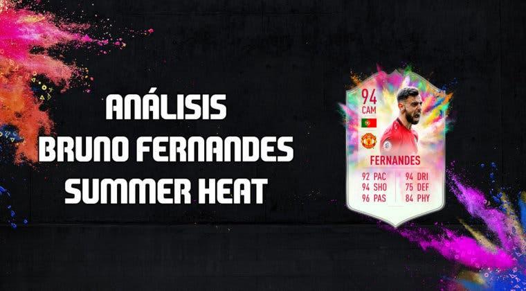 Imagen de FIFA 20: análisis de Bruno Fernandes Summer Heat, la nueva carta free to play