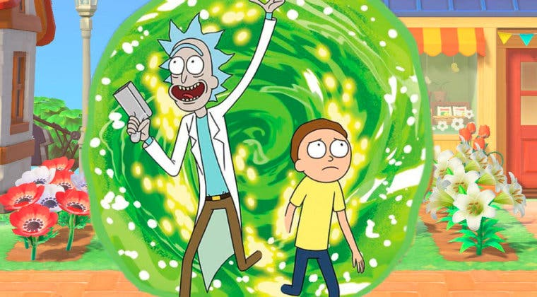 Imagen de Rick and Morty se cuelan en Animal Crossing: New Horizons
