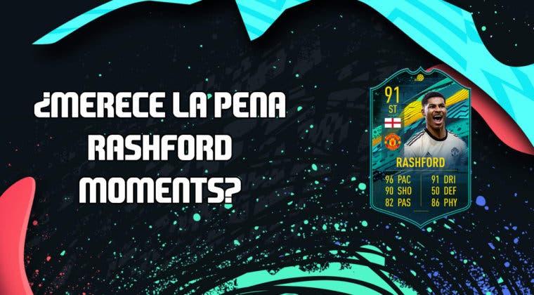 Imagen de FIFA 20: ¿Merece la pena Marcus Rashford Moments? + Solución de su SBC