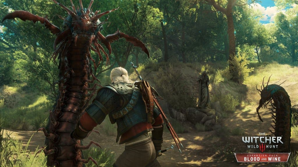 The Witcher 3 Wild Hunt Blood and Wine The Scolopendromorph