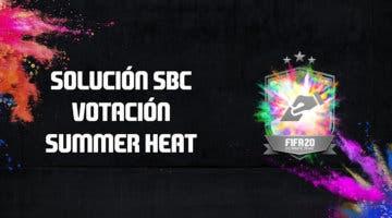 Imagen de FIFA 20: solución al SBC 'Votación Summer Heat'