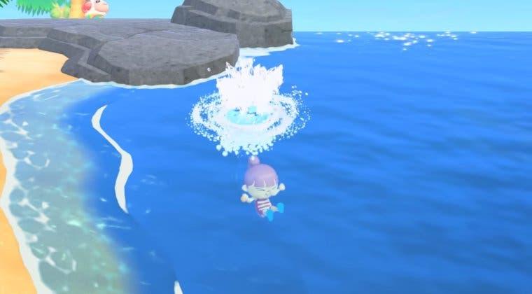 Imagen de ¡A bucear! Animal Crossing: New Horizons presenta su actualización de verano