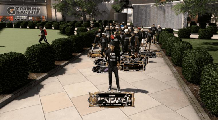 Imagen de NBA 2K20 añade camisetas gratis con el lema Black Lives Matter
