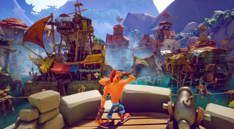 Imagen de Crash Bandicoot 4: It's About Time prepara su lanzamiento con un nuevo gameplay