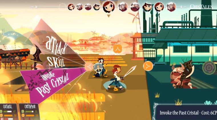 Imagen de Cris Tales muestra sus combates y exploración en un nuevo gameplay