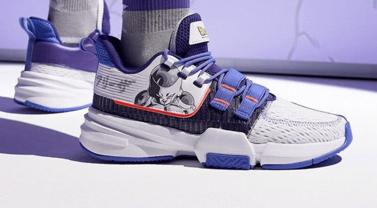 Imagen de Dragon Ball Super presenta sus nuevas zapatillas para 2020
