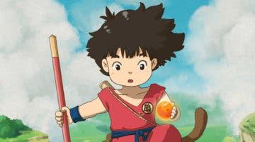 Imagen de Así sería Dragon Ball como una película de Studio Ghibli