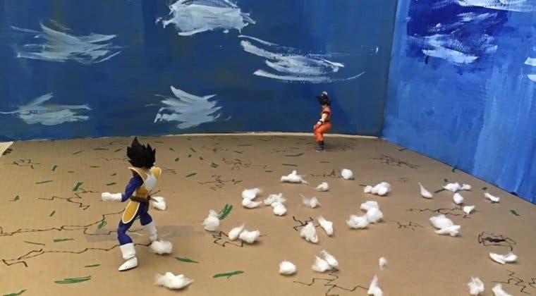 Imagen de Dragon Ball Z: Reinventan el combate de Goku y Vegeta en Stop Motion
