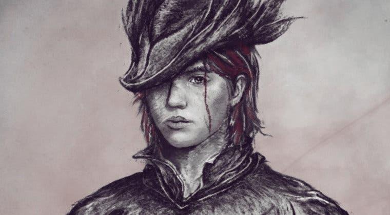 Imagen de Ellie, de The Last of Us 2, llega a Bloodborne con este espectacular dibujo