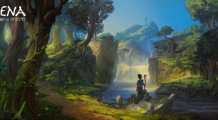 Imagen de Kena: Bridge of Spirits presenta nuevos artes conceptuales centrados en su ambientación