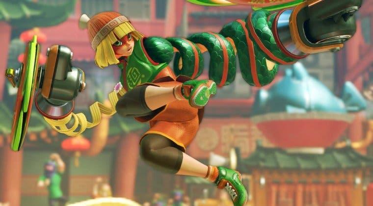 Imagen de Min Min, de ARMS, es la nueva luchadora de Super Smash Bros. Ultimate