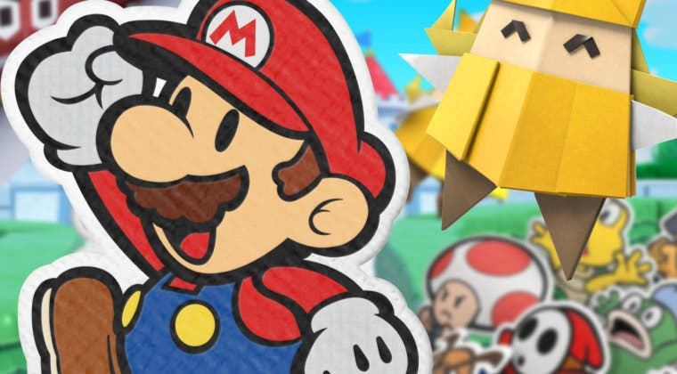 Imagen de Paper Mario: The Origami King luce combate, historia y más en un tráiler