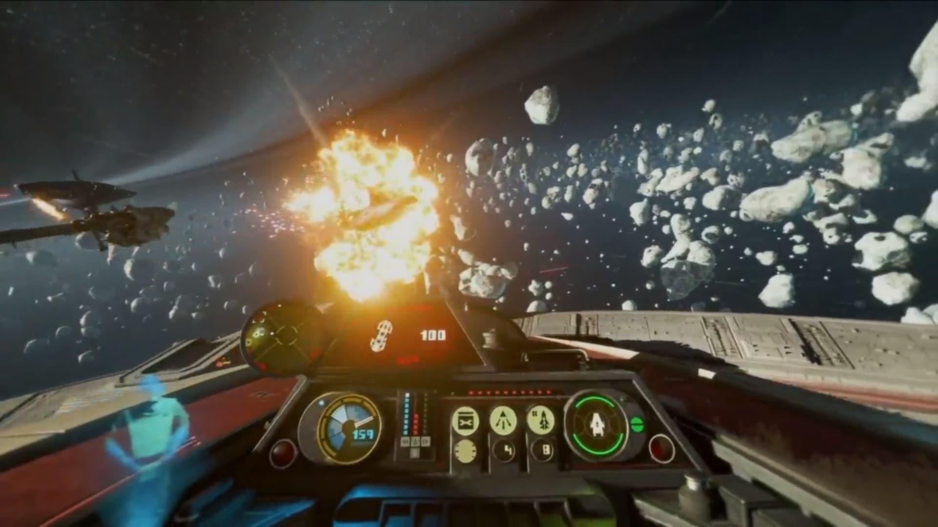 Star Wars: Squadrons permitirá desactivar la HUD y los cosméticos para  lograr más inmersión
