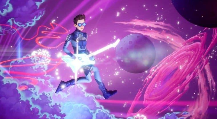 Imagen de The Artful Escape vuelve a lucir su apartado artístico en un nuevo gameplay