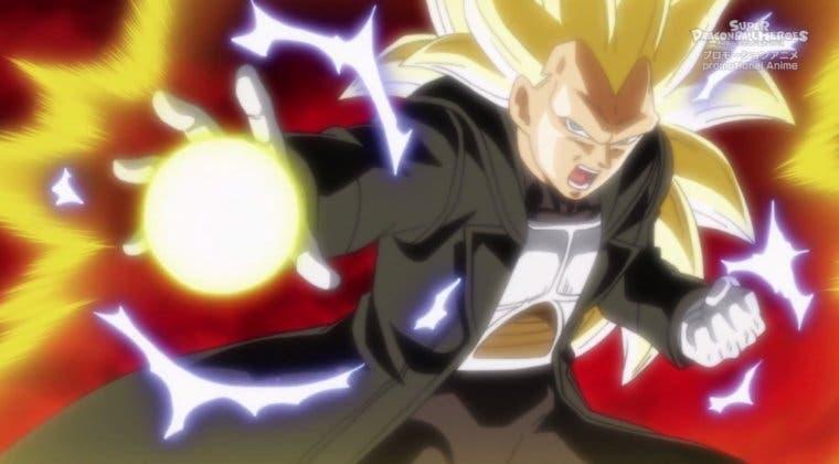 Imagen de Dragon Ball Heroes: Vegeta luce su Super Saiyan 3 en increíbles imágenes