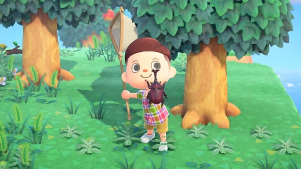 Animal Crossing New Horizons bichos