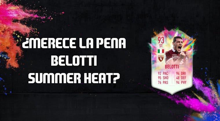 Imagen de FIFA 20: ¿Merece la pena Andrea Belotti Summer Heat? + Solución de su SBC
