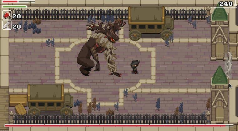 Imagen de Recrean Bloodborne como un juego de SNES con un increíble homenaje en pixel art