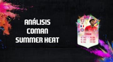 Imagen de FIFA 20: análisis de Kingsley Coman Summer Heat, una de las cartas free to play de esta semana