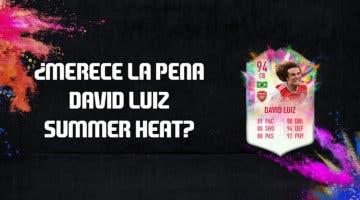Imagen de FIFA 20: ¿Merece la pena David Luiz Summer Heat? + Solución de su SBC