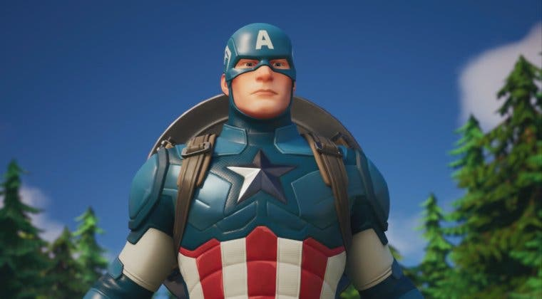 Imagen de Fortnite recibe al Capitán América a través de una nueva colaboración con Marvel