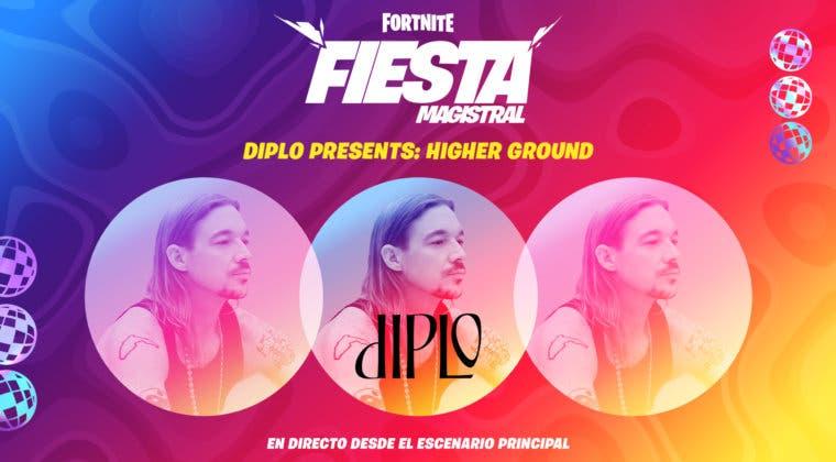 Imagen de Fortnite pone fecha y hora a su nuevo concierto 'Diplo Presents: Higher Ground'