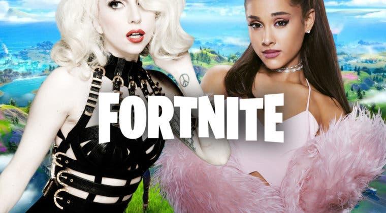 Imagen de Fortnite podría celebrar un nuevo concierto junto a Lady Gaga y Ariana Grande