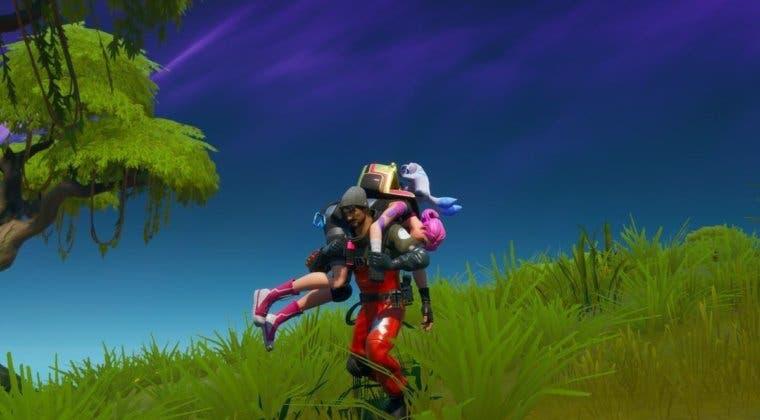 Imagen de Fortnite: cómo revivir a un aliado instantáneamente gracias a un glitch