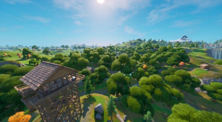 Imagen de Fortnite: Encuentra cubos de sirope de arce en Alameda Afligida