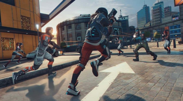 Imagen de Hyper Scape muestra en vídeo Hack Runner, uno de sus próximos modos de juego