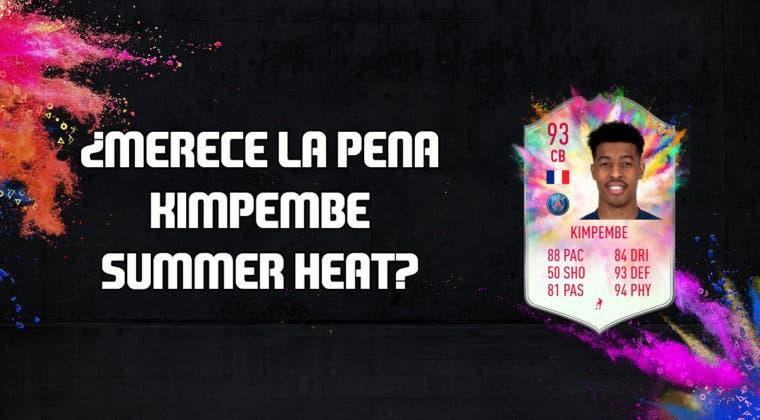 Imagen de FIFA 20: ¿Merece la pena Presnel Kimpembe Summer Heat? + Solución de su SBC