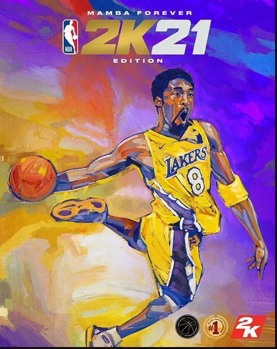 Kobe NBA 2K21 portada 1