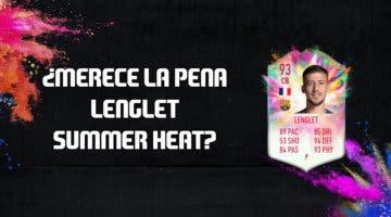 Imagen de FIFA 20: ¿Merece la pena Clément Lenglet Summer Heat? + Solución de su SBC